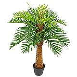 Leaf Foglia Artificiale Palma, 90cm Naturale
