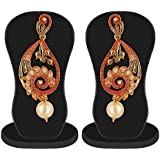 Apara Meenkari Kundan Pearl Earrings Set Jewellery for Girls/Women