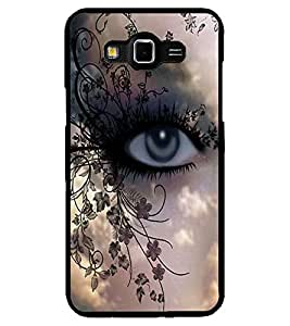 ColourCraft Beautiful Eye Design Back Case Cover for SAMSUNG GALAXY GRAND 3