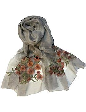 Efudfj Mujer Bufanda Personalidad Delicada Protección Solar Estilo Personal Buena Elástica Soft Decoración Verano...