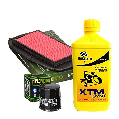 Kit tagliando Bardahl XTM Synt 10W40 filtro olio aria Yamaha FZ6 600/Faz