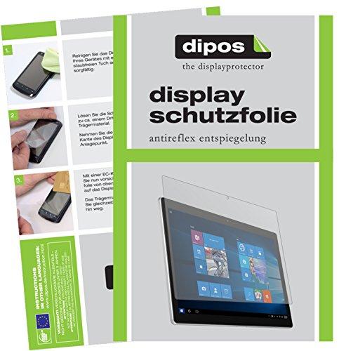 dipos I 2X Schutzfolie matt passend für Alcatel Plus 12 Folie Bildschirmschutzfolie