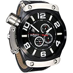 51mm MAXI-Size automatic watch multifunctional double crown sys. RS024