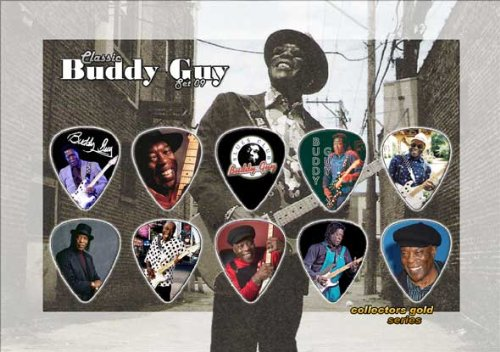 Buddy Guy Guitar Plektron Display Classic Edition (Buddy Guy-guitar Pick)