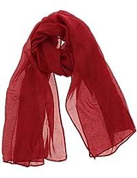 7720e1ba5cb Amazon.fr   Foulard Bordeaux   Vêtements