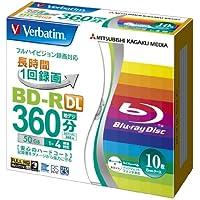 Mitsubishi Electric BD-R DL 50GB 10pieza(s) - BD-RE vírgenes (BD-R, 120 mm, 50 GB, 4X, Caja, 10 Pieza(s))