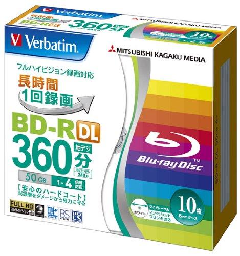 Verbatim Mitsubishi Blu-ray Disk 10 Pack - BD-R DL 50GB 4X -...