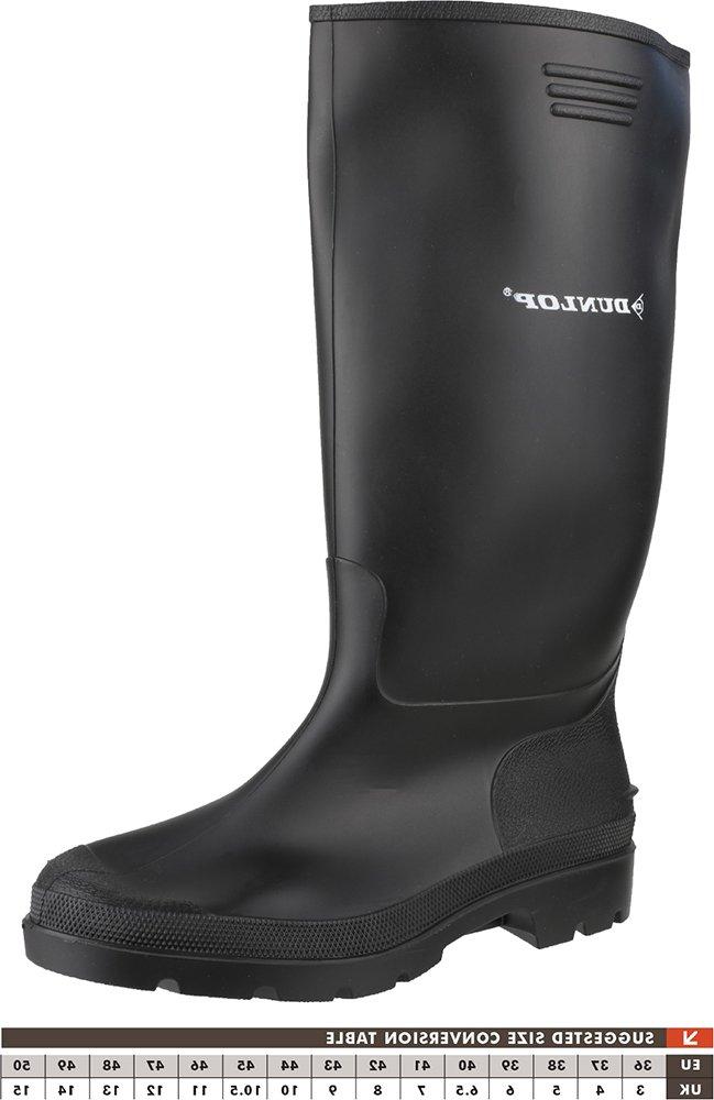 Dunlop 380PP Plain Rubber Pricemastor Footwear Wellingtons Safety Work Shoes 1