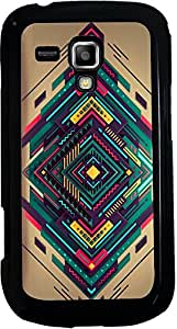 Printvisa 2D-SGS7562-D7955 Pattern Abstract Modern Case Cover for Samsung Galaxy S Duos S7562