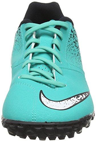 Nike Mens Bombax Tf Scarpe Da Calcio Turchese (trasparente Giada / Bianco / Nero)