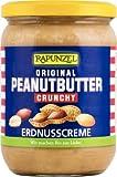 Rapunzel Peanutbutter Crunchy, 1er Pack (1 x 500 g) - Bio