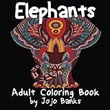 Adult Coloring Book (Elephants)