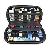 Paimio Tragetasche für Festplatte, Nintendo 3DS XL/LL PSP PSV, Power Bank, USB-Laufwerk, SD-Karte, USB-Kabel