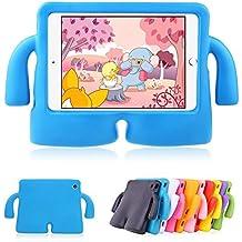 Funda infantil para iPad Mini 1, 2, 3 y 4. Funda muy ligera a prueba de golpes, de duradera espuma EVA para niños, compatible con iPad Mini 1, 2, 3 y 4.
