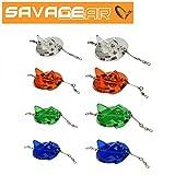 Savage Gear Disc Diver Tauchscheibe, Tauchscheiben zum Schleppfischen, Schlepphilfe zum Schleppangen, Hilfsmittel zum Schleppen, Bootsangeln, wahlweise 107g oder 56g