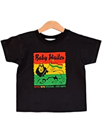 Baby Wailer Reggae T-shirt. Kids rasta tee. For Toddlers / Kids Aged 1-2 years