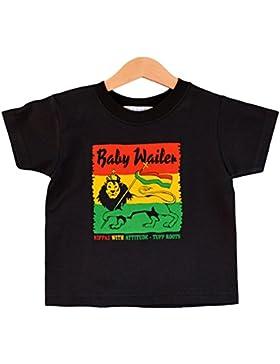 En caso de-de la camisa de del bebé sollozar 1-2 de los niños del reloj Music Monkeys T-Shirt.