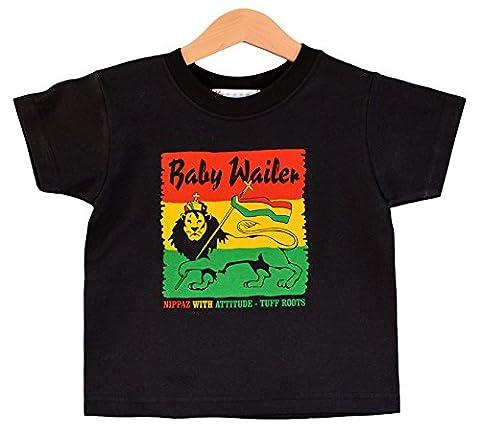 wailer T-shirt pour bébé 1–2ans kids T-shirt Reggae.