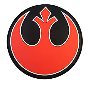 Rebel Alliance Star Wars PVC Gomme 3D Velcro Écusson Patch