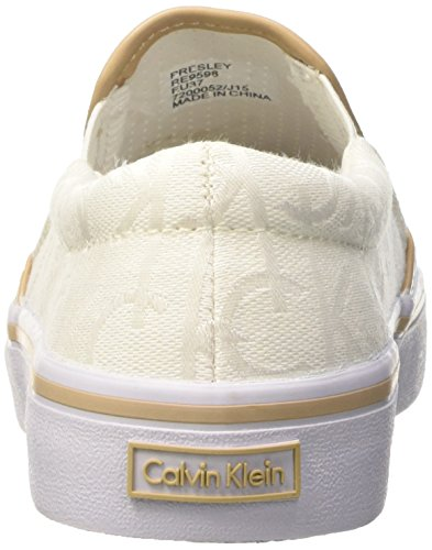 Calvin Klein Presley Ck Logo Jacquard Vacch Damen Hausschuhe White White  Natural -amsel-ulm.de 1400a50468