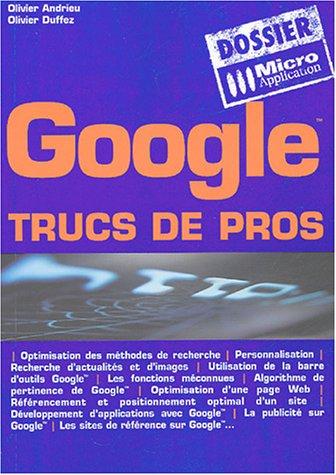 Google : Trucs de pros