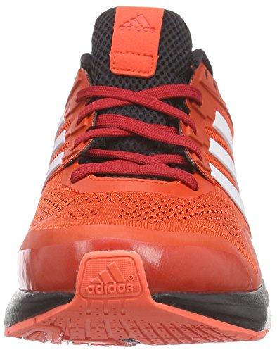 adidas Performance Supernova Glide 8, Scarpe da Corsa Uomo Rosso (Rot (Bold Orange/Ftwr White/Core Black))