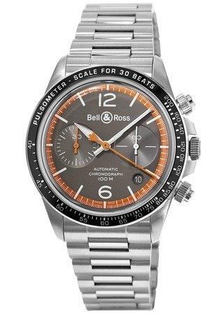 Bell & Ross Br V2–94garde-cãƒâ € tes Hombres del reloj brv294-ora-st/SST