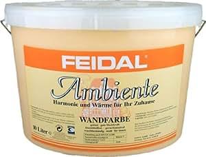 feidal ambiente wandfarbe capuccino 10 liter baumarkt. Black Bedroom Furniture Sets. Home Design Ideas