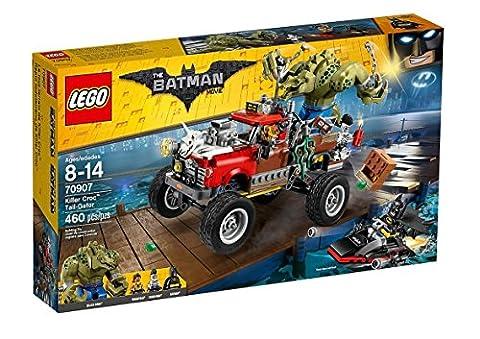 LEGO Batman Killer Croc Tail-Gator Building Toy