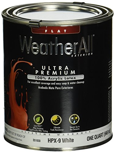 true-value-hpx9-qt-premium-weatherall-white-exterior-flat-acrylic-latex-house-paint-1-quart-by-true-