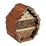 Insektenhotel für Bienen und Insekten