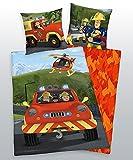 Herding Feuerwehr SAM Flanell Wende Bettwäsche incl. Aufbewahrungsbeutel 4670241.050