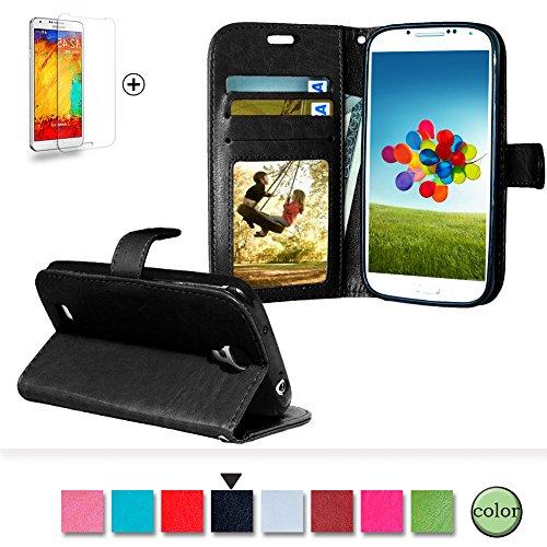samsung-galaxy-s4-funda-regalos-gratis-protector-de-pantalla-funyye-prima-clasico-color-puro-cuero-d