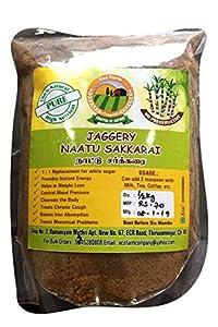Ecofarm Company Nattu Sakkari Jaggery-500 Grams