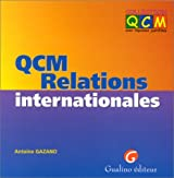 QCM, les relations internationales