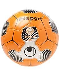 Uhlsport Liga 2balón de entrenamiento, color naranja/blanco/negro, talla 4