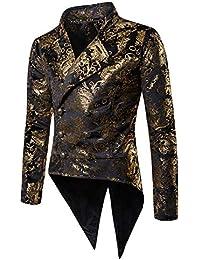 Amazon.it: spettacolo Oro Abiti e giacche Uomo