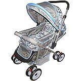 Babylove Foldable Baby Stroller, 27-2113, Grey&Blue