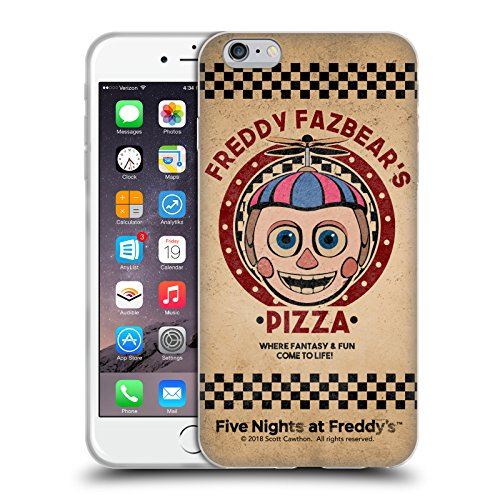Official Five Nights At Freddy's Balloon Boy Freddy Fazbear's Pizza Soft Gel Case for iPhone 6 Plus / iPhone 6s Plus