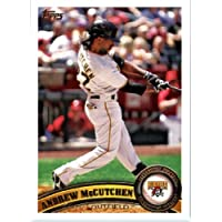 2011 Topps Baseball Card #60 Andrew McCutchen - Pittsburgh Pirates - MLB Trading Card