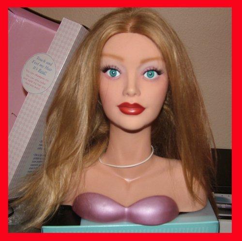Mannequin Courtney vierges à 100% européenne Cheveux miniature
