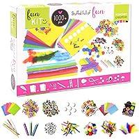 Vaessen Creative 1119-901 Kit Para Manualidades Con Más De 1000 Piezas, Multicolor, 32x22x6.5 cm