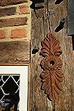 Antikas - Maueranker wie antik, Pfettenanker Wandornament, schöner Wandanker Doppelblatt