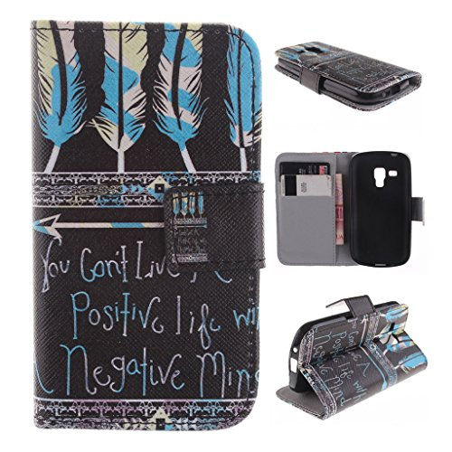 Nutbro [Galaxy S7562] Galaxy S7560S Case,Galaxy S7562 Case,[Vertical Flip] iPhone Colorful Design Magnetic PU Leather Flip Case for Samsung S7562 ZZ-S7562-28