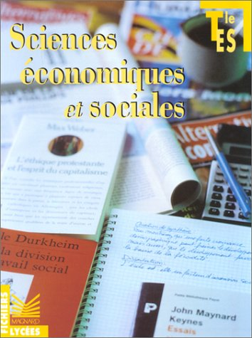 Economie et sociale terminale ES