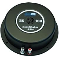 Reckhorn Sinustec 14019BS-250 -Transductor de Vibraciones (bodyshaker), 4ohmios, Color Negro