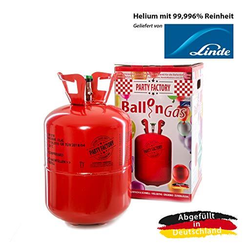Party Factory Ladenburg Helium Flasche für 50 Luftballons Ballons