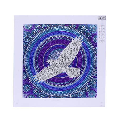 friendGG❤Neue Diamant Malerei Kits Voll Bohrer, DIY 5D Strass Kristall Stickerei Bilder Kreuzstich Kunsthandwerk Für Wohnkultur DIY Malerei, Kunst Wand oder Wohnzimmer