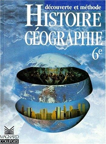 Histoire géographie, 6e. Elève