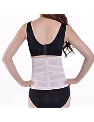 SFD/ Correa plástica de abdomen fajas corsés con posparto vientre pantalones de cintura alta de sus clips de cintura de estómago , light skin color , xxl
